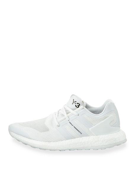 Men's Pure Boost Mesh Sneaker, White