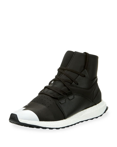 Men's Kozoko High-Top Sneaker, Black/Silver