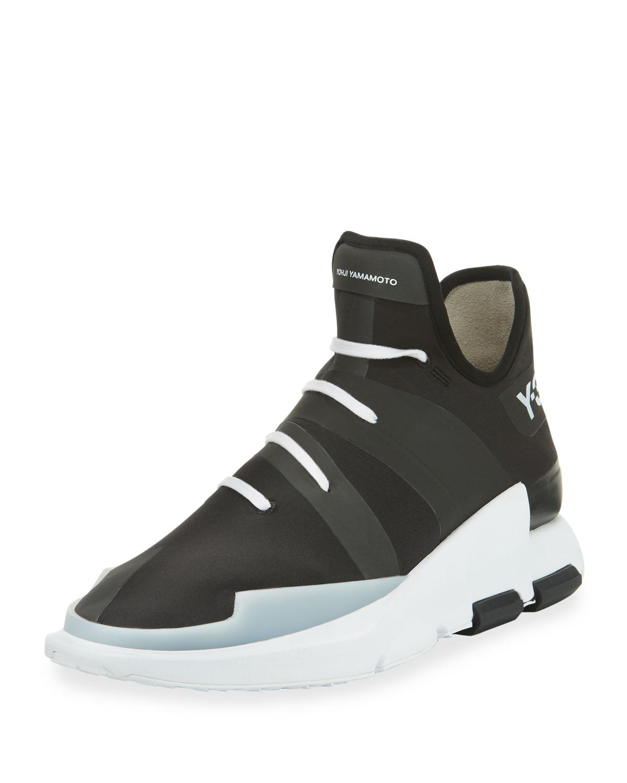 b5f155490cee5 Y-3 Men s Noci High-Top Sneaker