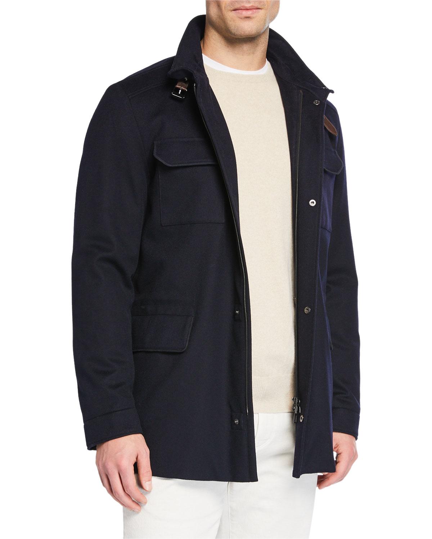 e391759ca936 Loro Piana New Traveler Cashmere Stretch Storm System® Jacket ...