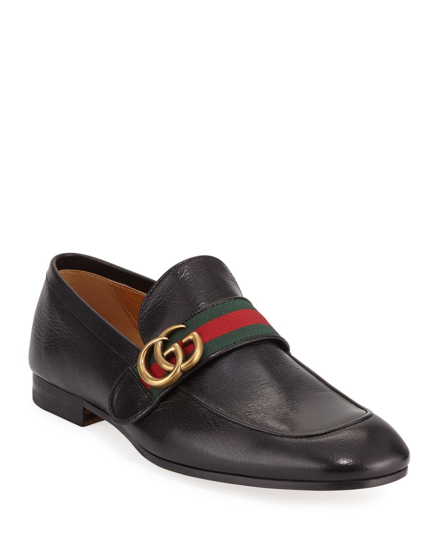 561fcda73bd Mens Stacked Heel Shoe | Neiman Marcus