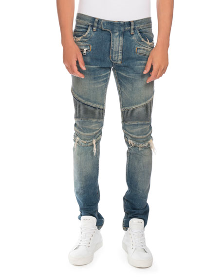 Mens Distressed Jeans | Neiman Marcus