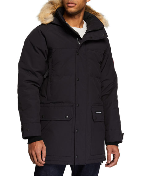 Image 2 of 4: Emory Down Parka with Fur-Trim Hood
