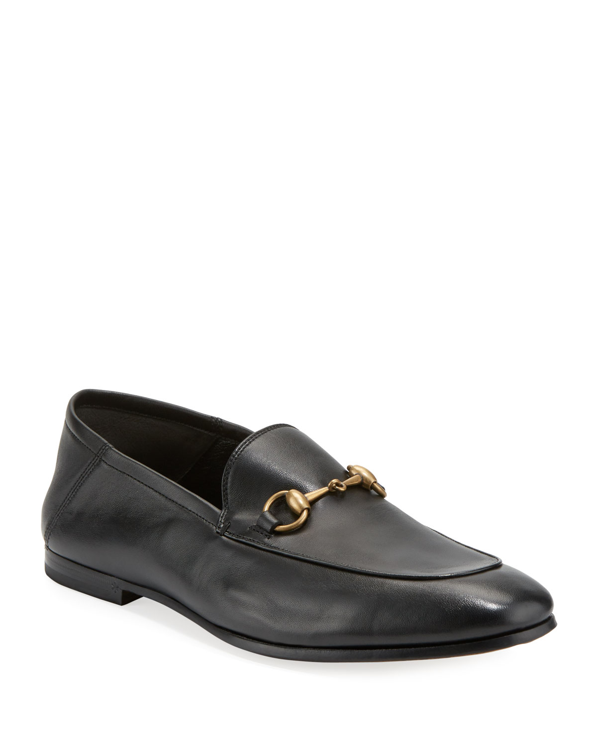 a2b6c80cf79 Quick Look. Gucci · Brixton Soft Leather Bit-Strap Loafer