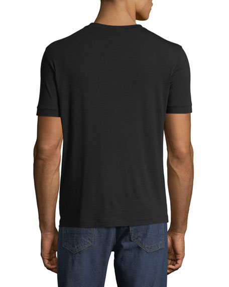 Giorgio Armani Men's Basic Crewneck T-Shirt