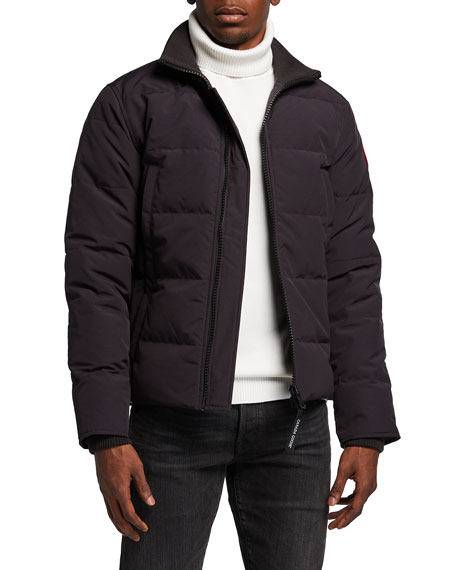 Canada Goose Woolford Puffer Jacket, Black