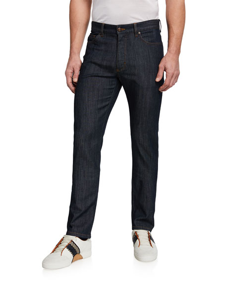 Five-Pocket Denim Pants