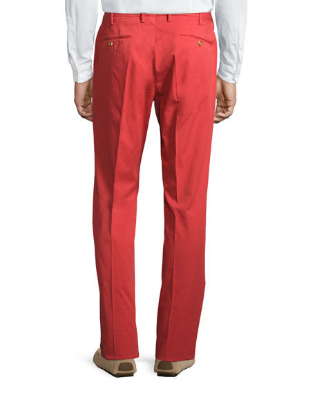 Benson Five-Pocket Standard-Fit Trousers