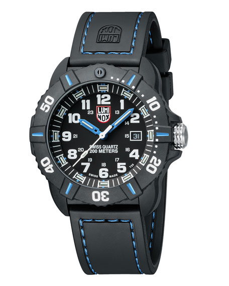Luminox 44mm Sea Series Coronado 3023 Watch, Blue