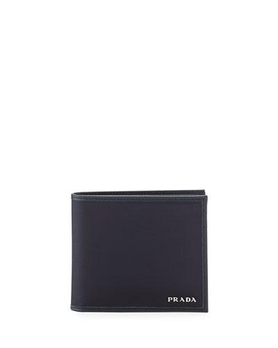 Nylon Bi-Fold Wallet