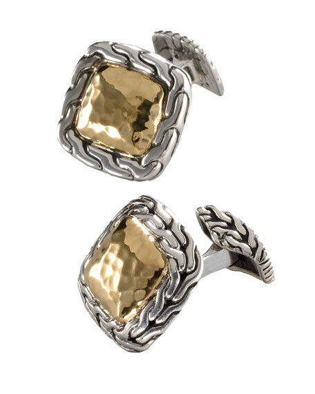 Palu Square Cuff-Links