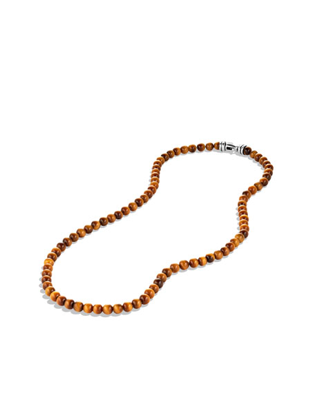 Spiritual Beads Necklace with Tiger's Eye