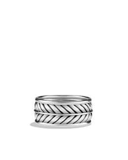 David Yurman Chevron Band Ring