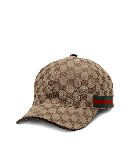 gucci canvas baseball hat. Black Bedroom Furniture Sets. Home Design Ideas