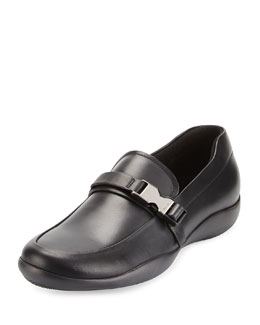 Prada Buckled Loafer