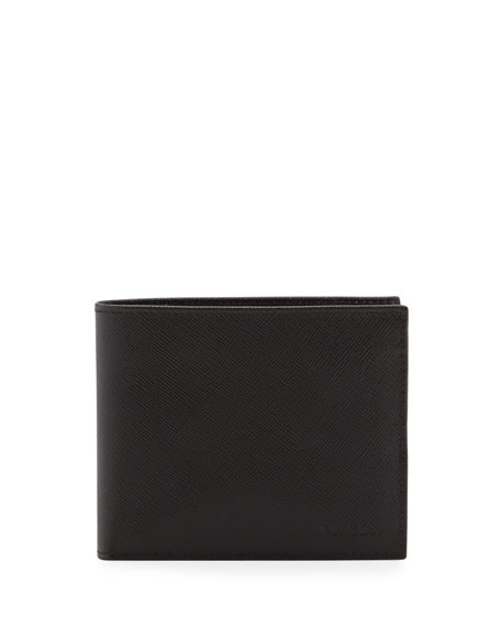 Saffiano Wallet, Black