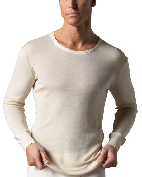 Woolen Silk Thermal Shirt