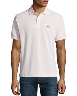 Lacoste Classic Pique Polo, Light Pink