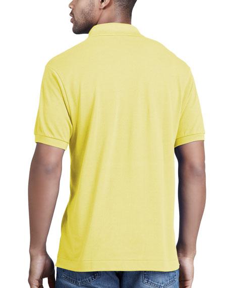 Classic Pique Polo, Yellow