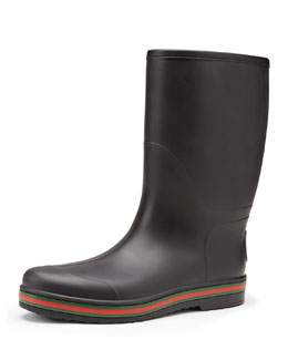 Gucci Rubber Boot