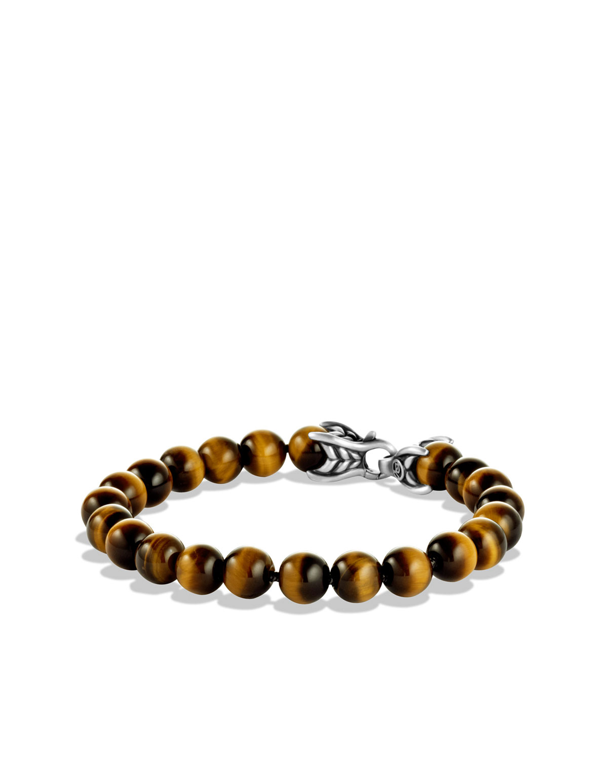 David Yurman Spiritual Beads Bracelet with Tiger\'s Eye | Neiman Marcus