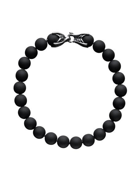 Black Onyx Spiritual Bead Bracelet