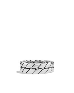 David Yurman Curb Chain Band Ring