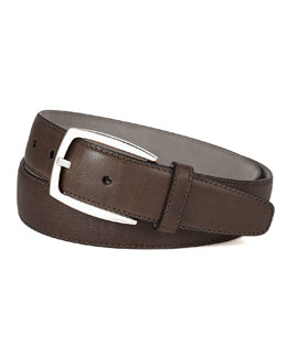 Brioni Calf Leather Noblesse Belt