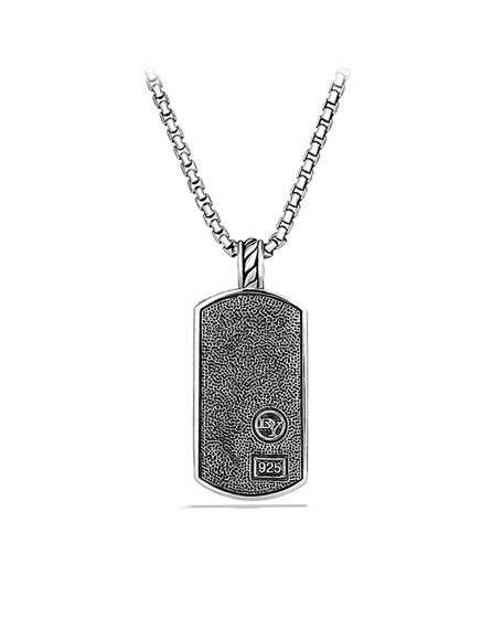DY Logo Tag on Chain
