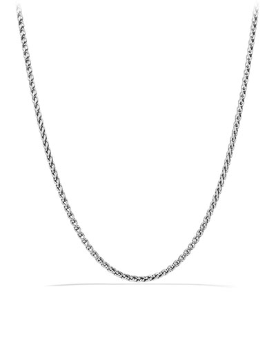 "David Yurman 4mm Wheat Chain Necklace, 18""L"
