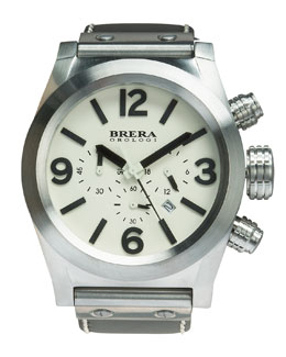 Brera Eterno Chrono Watch, Stainless Steel