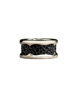 Stephen Webster Black Sapphire Ring