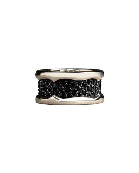 BLACK SAPPHIRE RAYSKIN RING