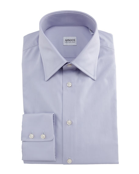Modern Fit Basic Dress Shirt, Lavender