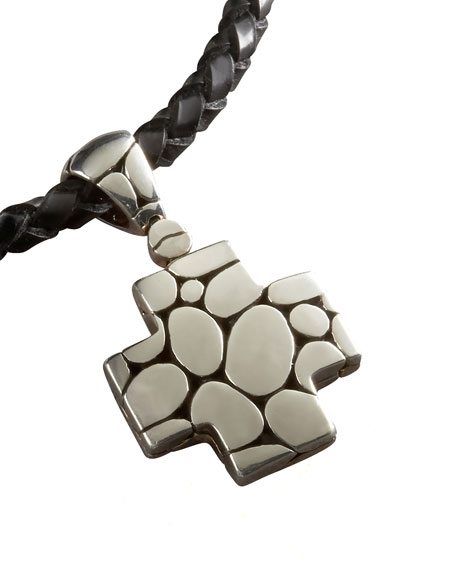 John Hardy Kali Cross Pendant Necklace Neiman Marcus