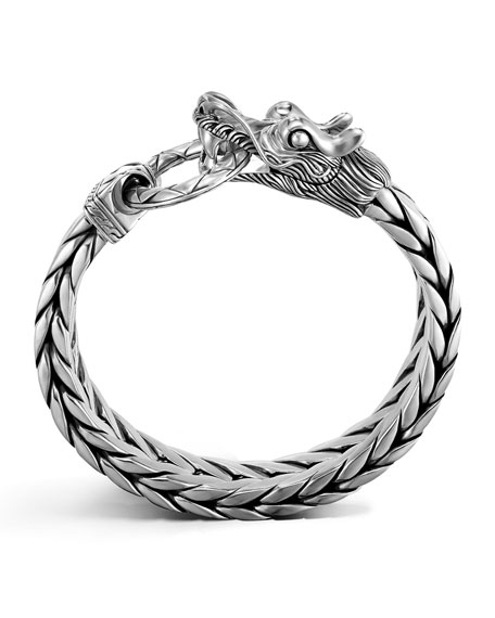 John Hardy Men's Legends Naga Dragon Bracelet, Large
