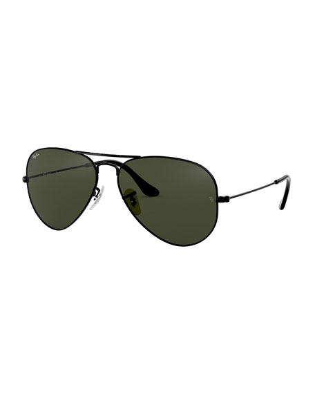 Ray-Ban Teardrop Aviator Sunglasses, Gold