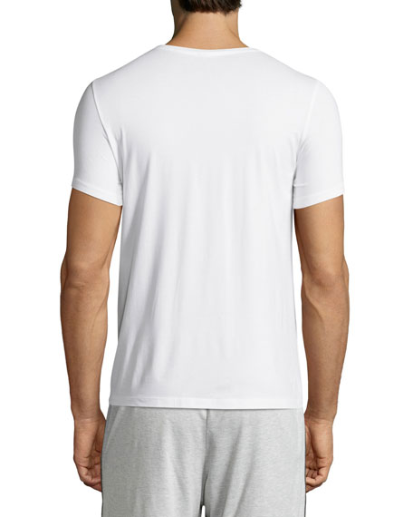Cotton Superior Short-Sleeve Crewneck Tee