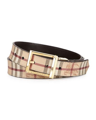 Burberry Reversible Belt