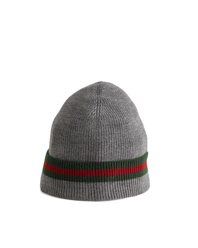 Gucci Knit Cap, Gray