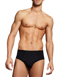 Hanro Briefs Two-Pack, Black