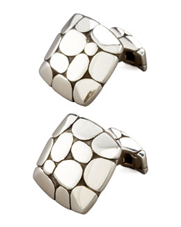 John Hardy Kali Square Cuff Links