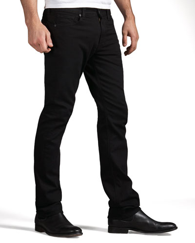 7 For All Mankind Slimmy Black Jean