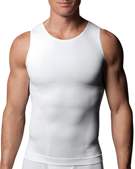 Zoned Compression Tank, White
