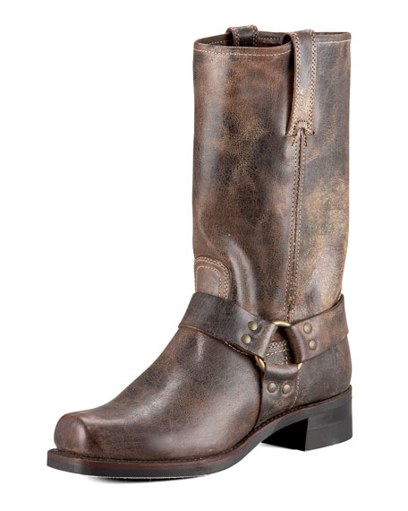 Frye Harness 12R Boot, Chocolate