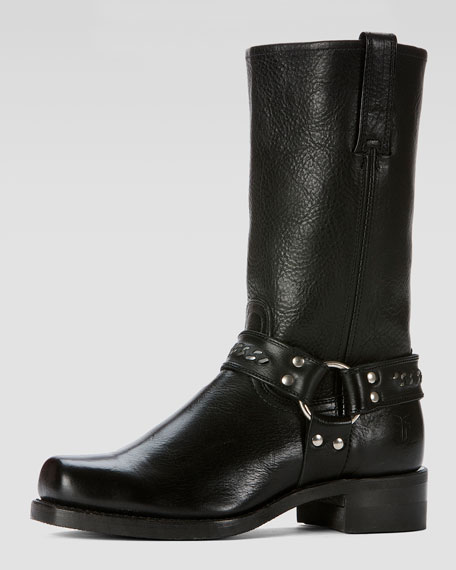 Frye Men's Harness 12R Chain Boot, Black