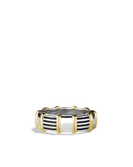David Yurman Royal Cord Ring with Gold