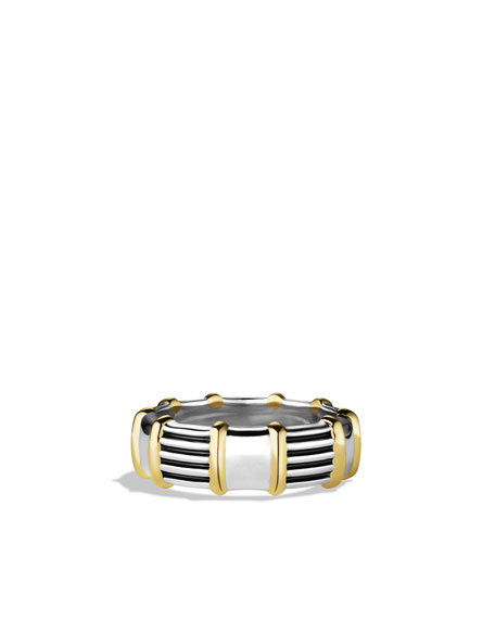 Royal Cord Ring with Gold