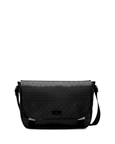 GG Imprime Flap Messenger Bag