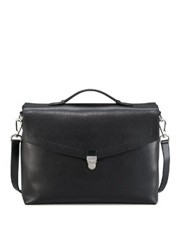 Salvatore Ferragamo Leather Briefcase